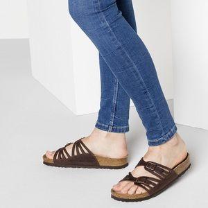 Birkenstock Granada sandal in Mocha